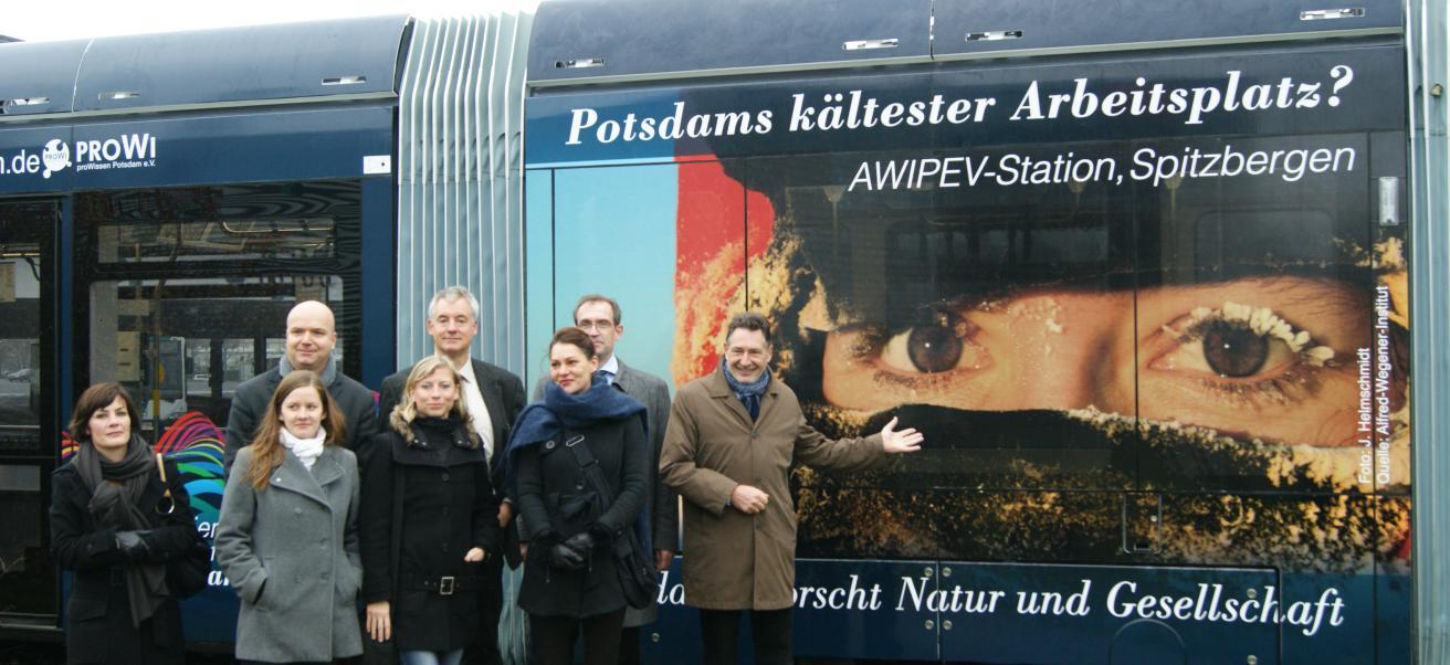 Die Potsdamer Wissenschaftsbahn